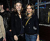 Slide Photo of Jessica Biel and Isabel Lucas at Voyeur Charity Event