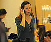 Slide Photo of Jennifer Garner on the Phone in LA