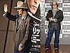 Photos of Johnny Depp Promoting Public Enemies in Japan 2009-12-09 07:45:00