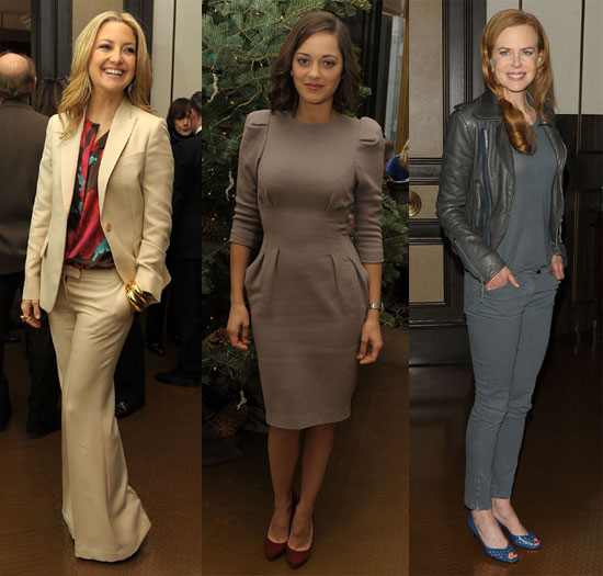 Photos of Kate Hudson, Marion Cottillard and Nicole Kidman At Nine Luncheon in NYC