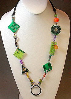 Colorful Circuit Board  Eyeglasses/ID Holder Is Absolutely Divine