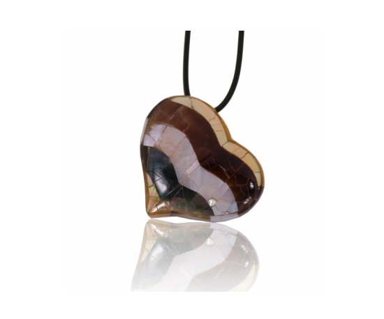 Shell Heart Pendant