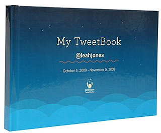 Turn Your Best Tweets Into a Keepsake Book