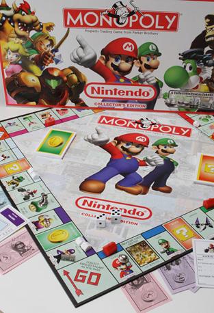 Nintendo Monopoly Images