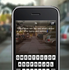 Type n Walk iPhone App Is Kind of Ridiculous