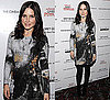 Photo of Sophia Bush Weaing Abstract Print Helmut Lang Dress at The Private Lives of Pippa Lee Premiere in NYC