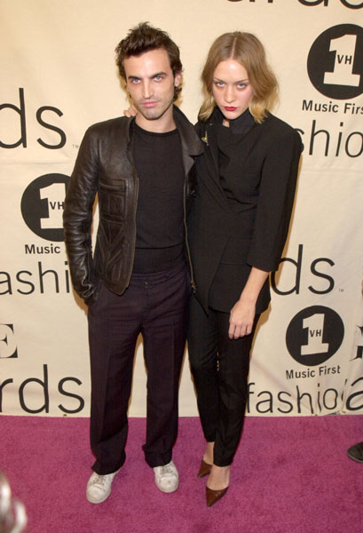 2000, VH1 Vogue Fashion Awards With Nicolas Ghesquiere