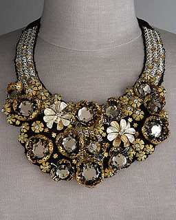 Jeweled Bib Necklaces For Holidays