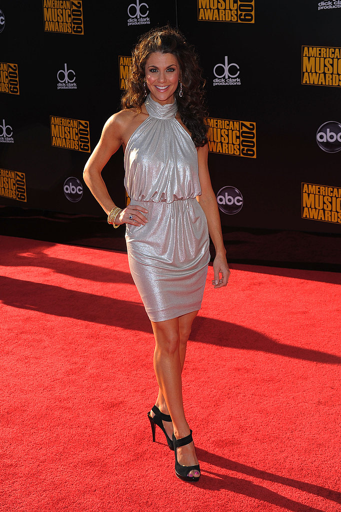 Samantha Harris Sparkles on the Carpet