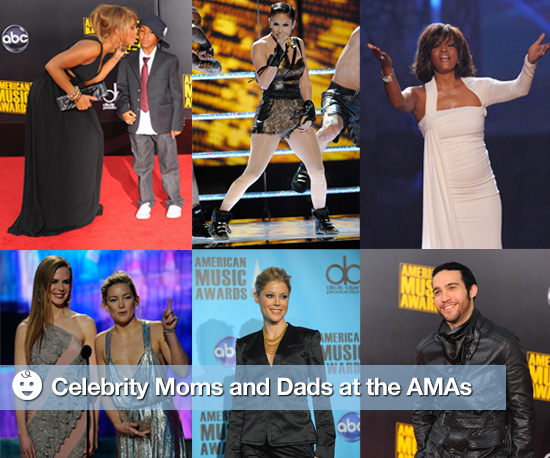 Photos of Celebrity Moms and Dads at the American Music Awards