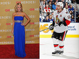 Carrie Underwood and Mike Fisher