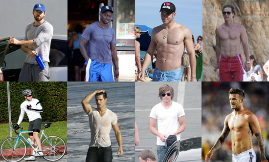 Who Is the Fittest Male Celeb of 2009?