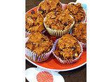 Oatmeal, Dark Chocolate Chip, Pumpkin Muffins