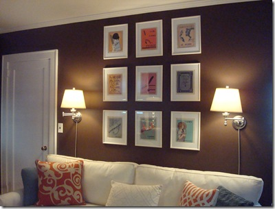 High-Heeled Foot in the Door has the skinny on getting this wall art look picture perfect.