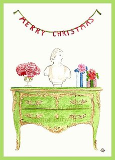 The Card Shop: Anne Chovie Merry Christmas Cards