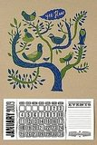 I love the folksy flair of this Birds in a Tree Calendar ($35).