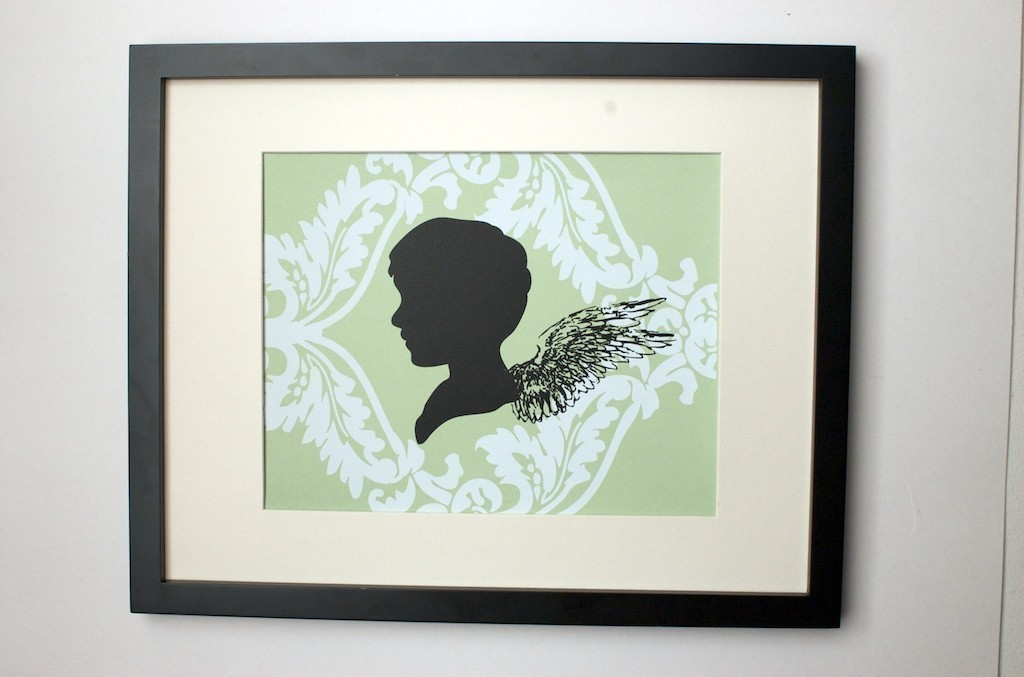Add some angelic wings to the classic silhouette with this Where Angels Fear to Tread Poster ($15).