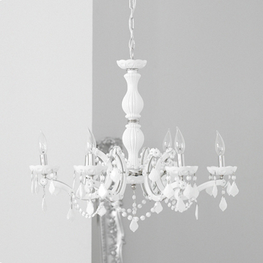 Add elegance to your home with the Brocade Home Crystal Chandelier ($600)
