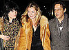 "Photos Kate Moss Out For Dinner With The Kills' Alison Mosshart & Jamie Hince, Kate Reveals ""Thin"" Motto She Tries To Live By"