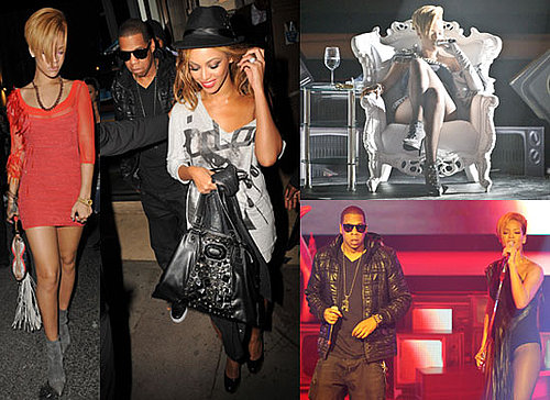 Photos of Rihanna London Gig and After Party With Beyonce and Jay-Z