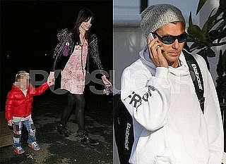 Photos of Gavin Rossdale and Daughter Daisy Lowe With Kingston in London