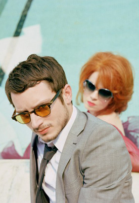 Elijah Wood and Shirley Manson for Oliver Peoples Sunglasses