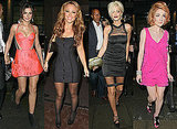 Photos of Girls Aloud at Sarah Harding's Birthday Party