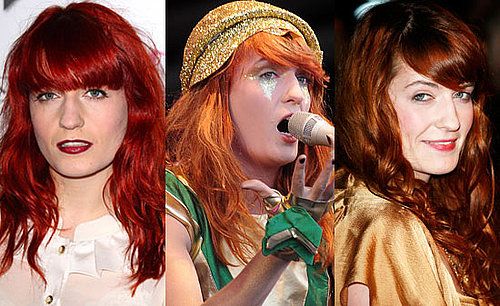 Florence Welch Hair 2009-11-30 02:15:00