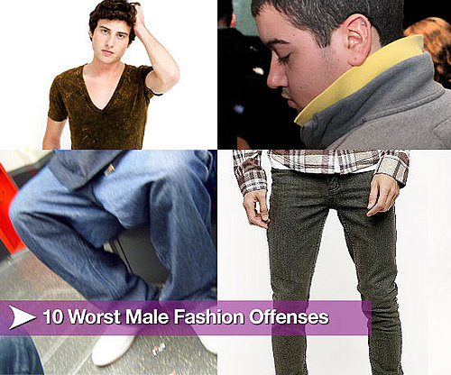 10 Worst Male Fashion Offenses
