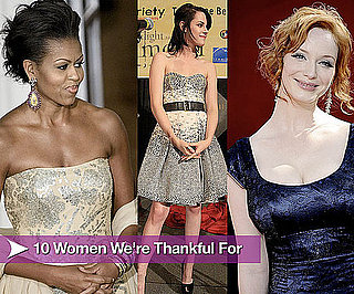 10 Women of 2009 to Be Thankful For