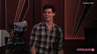 Video of Taylor Lautner Catching Grapes
