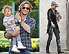 Photos of Halle Berry, Gabriel, and Nahla at Disneyland