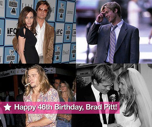 Happy 46th Birthday, Brad Pitt!