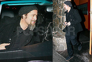 Photos of Brad Pitt Out in LA