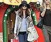 Slide Photo of Nicole Richie Christmas Shopping in LA