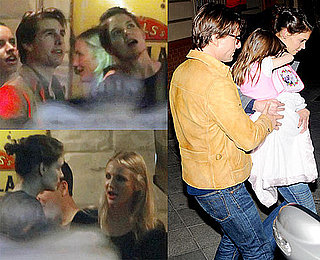 Photos of Cameron Diaz, Tom Cruise, Suri Cruise, Isabella Cruise, and Connor Cruise Celebrating Katie Holmes's Birthday