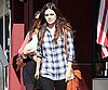 Slide Photo of Rachel Bilson Leaving Market in LA