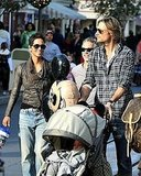 Photos of Halle Berry, Gabriel and Nahla at Disneyland