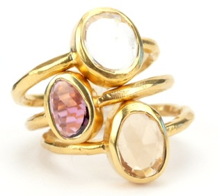 Stackable Jewel Rings