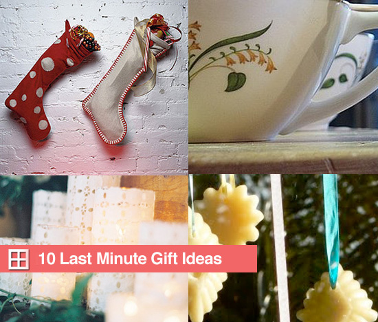 10 Last-Minute Gift Ideas