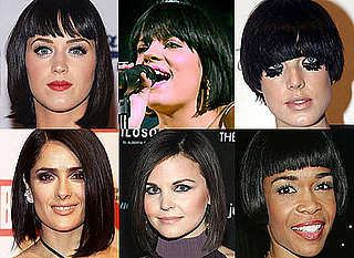 Celebrity Bob Hairstyles, Celebrity Bobs, Agyness Deyn Hair, Lily Allen Hair, Katy Perry Hair, Salma Hayek Hair