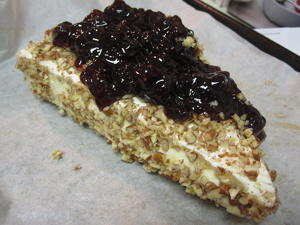 Baked Brie With Pecan Crust and Jam