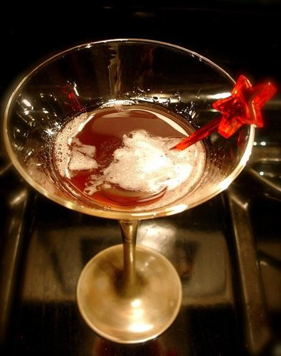 Recipe For Cherry Manhattan Cocktail