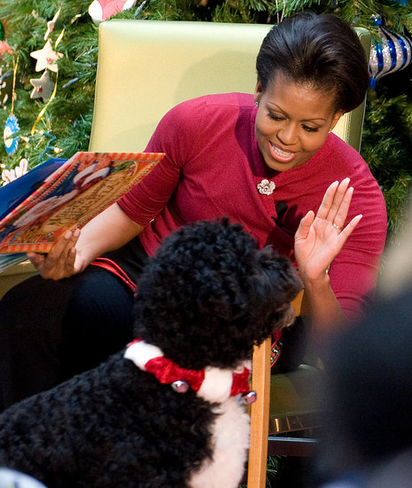 Bo's Holiday Included Snow and Storytime!