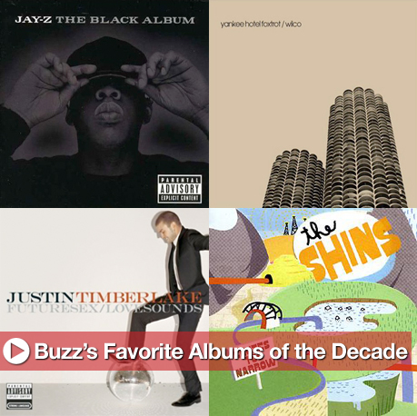 BuzzSugar's 20 Favorite Albums of the Decade