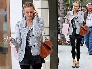 Photos of Diane Kruger Shopping in LA