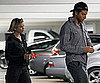 Slide Photo of Renee Zellweger and Bradley Cooper Leaving the Movies in LA