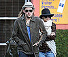 Slide Photo of Nicole Richie and Joel Madden Shopping in LA