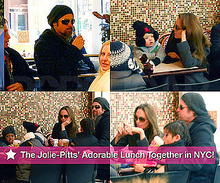 Brad and Angelina Out to Lunch With Maddox, Pax, Zahara, and Shiloh!