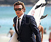 Slide Photo of Simon Baker in Australia with Surfboard